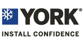 A logo of York