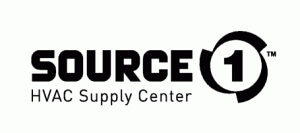 A logo of Source HVAC Supply Center